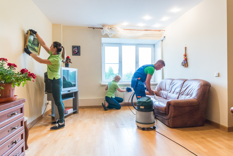 Уборка квартиры с мебелью🧹 без мебели 🏠 Москва и МО